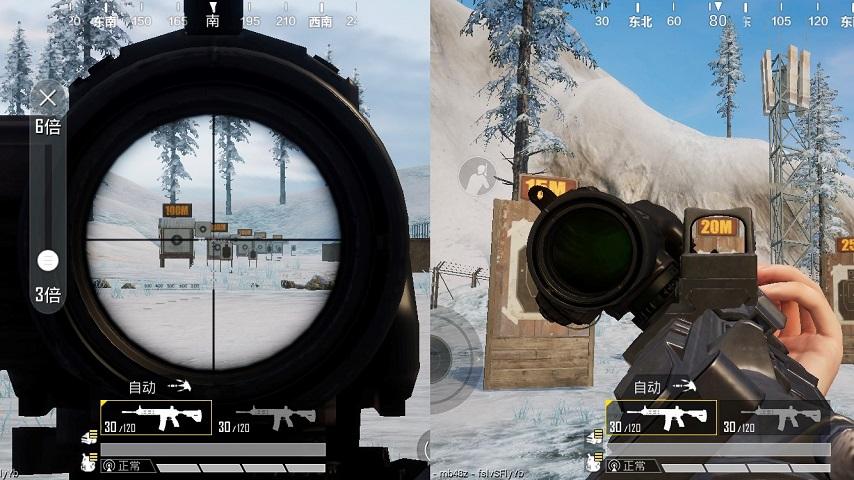 和平精英中和侧瞄准镜最搭的倍镜介绍