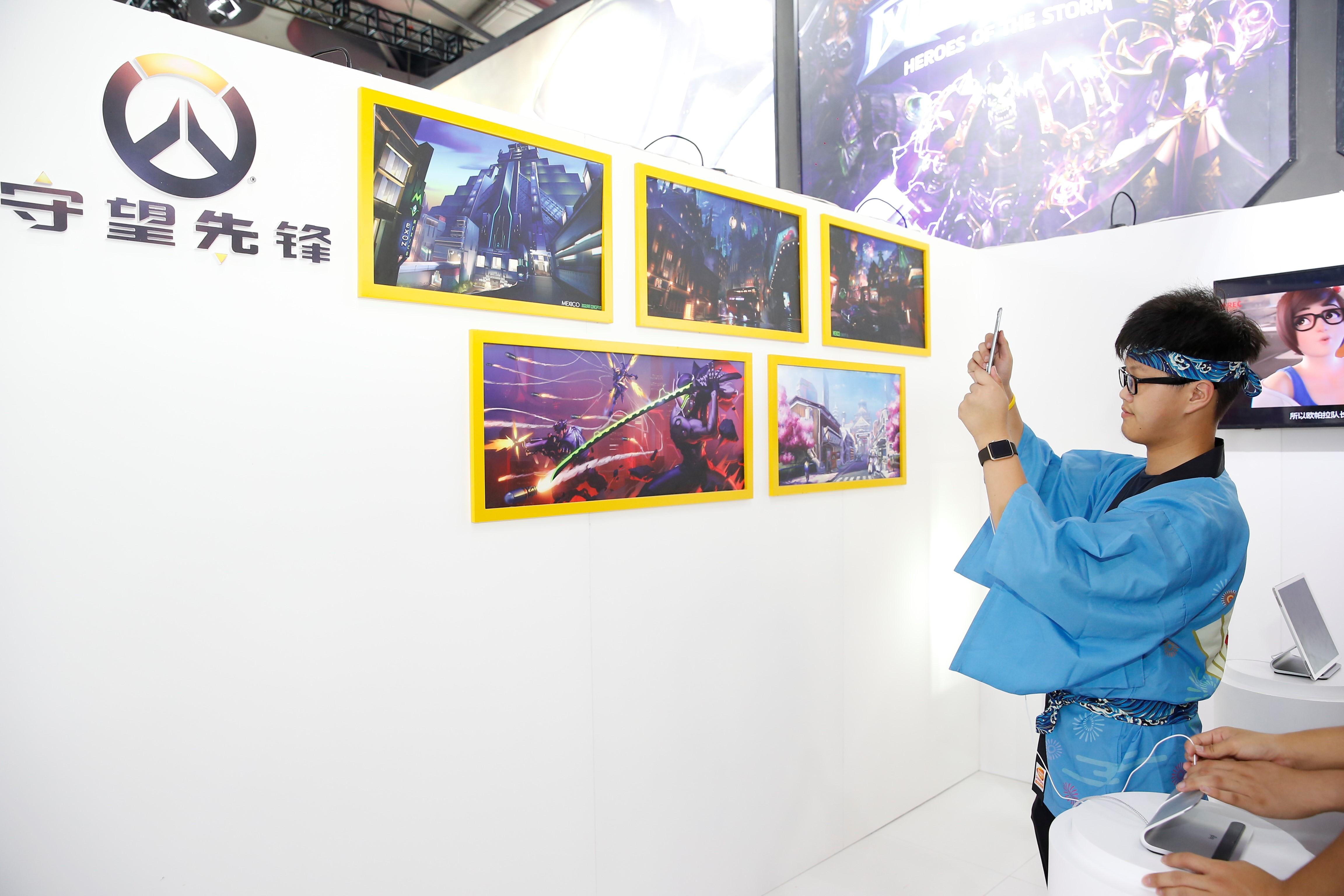 暴雪激情燃爆全场,2019ChinaJoyBTOC展区再续精美!