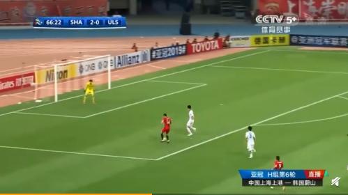 上港亚冠小组出线:奥斯卡帽子戏法,上港5-0大胜亚冠小组出线