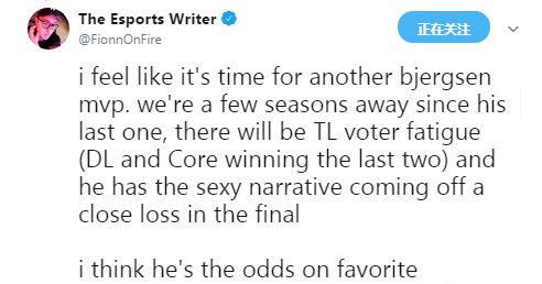 ESPN四大賽區MVP預測詳解 皆是中單