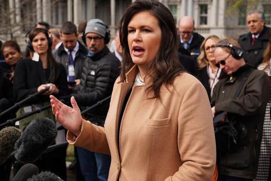 白宮發言人將離職:白宮發言人桑德斯將辭職,特朗普再失一位擁護者