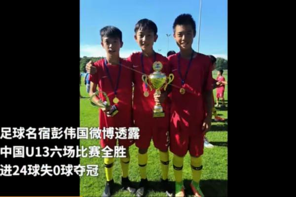 中国U13国少夺冠:中国U13夺得克罗地亚梦想杯冠军