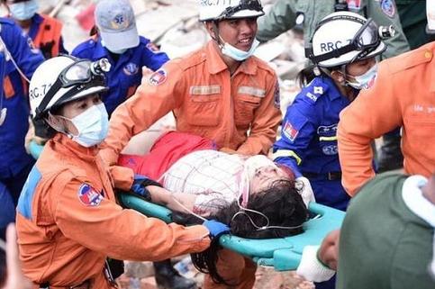柬埔寨一修修筑物坍塌致18死:涉事中国公民已被掌握
