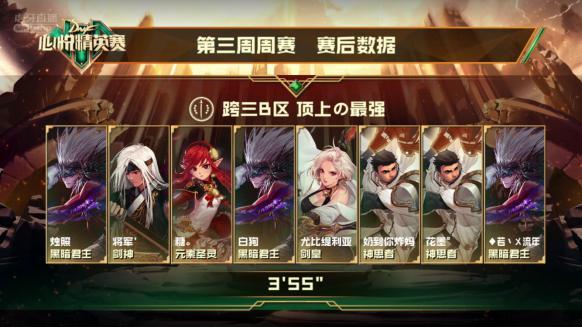"""""""DNF心悦精英赛""""第三周战报"""