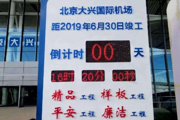 北京新机场竣工:凤凰于飞,展翅在即