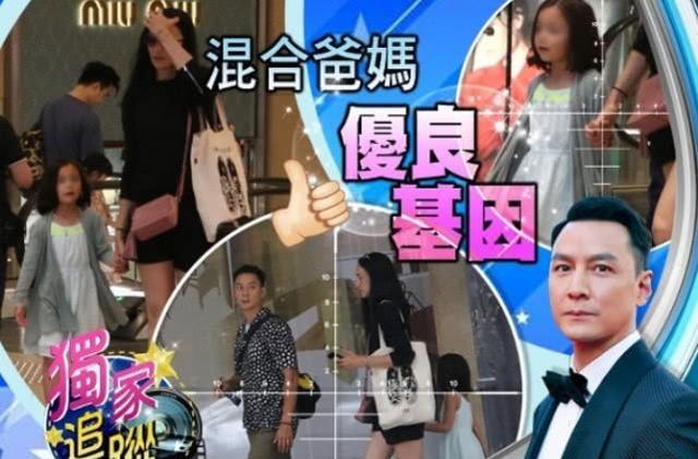 吴彦祖女儿曝光:吴彦祖6岁混血女儿罕见曝光正脸