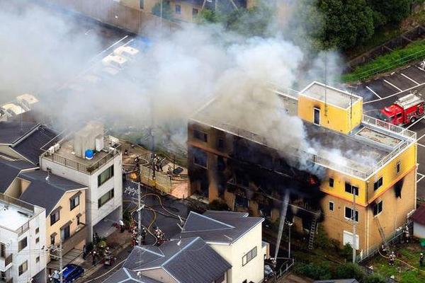 京都动画火灾初步调查结果:屋顶门可从里面打开,19人逃到门前被呛死