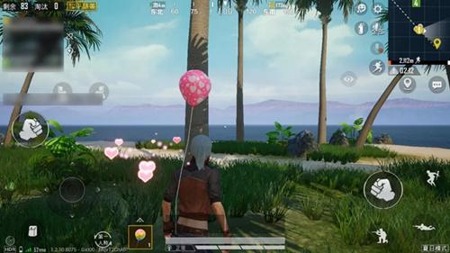 和平精英4种颜色的气球位置介绍
