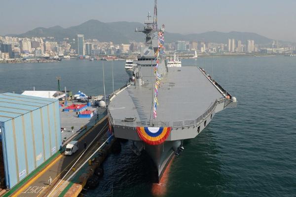 美媒:韩国将建3万吨级准航母,应对中日潜在威胁