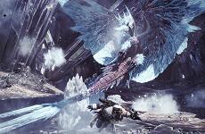 """《怪物獵人:世界》冰原""""DLC""""新怪物冰咒龍"""