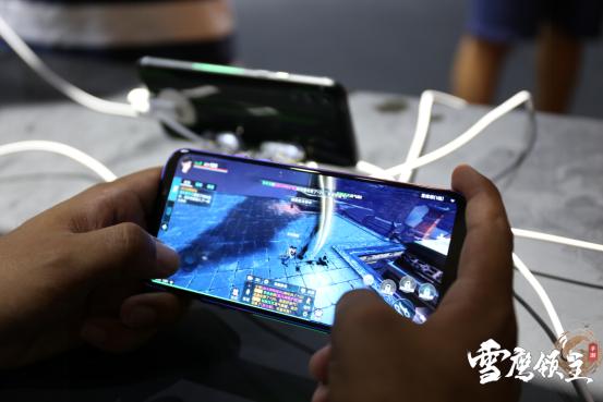 强势出击  《雪鹰领主》手游携手黑鲨手机参展2019Chinajoy