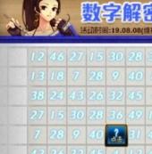 dnf8月12日数字解密答案介绍