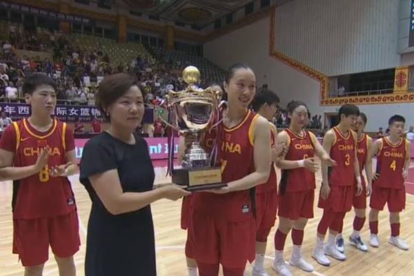 中国女篮夺冠:中国女篮88-68大胜希腊夺冠