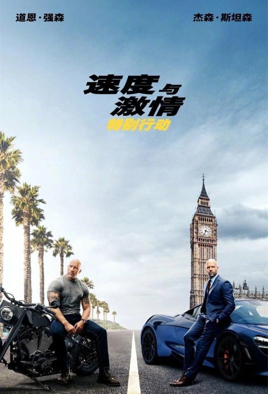 《速度与激情》番外篇《速度与激情:特别行动》今日国内首映
