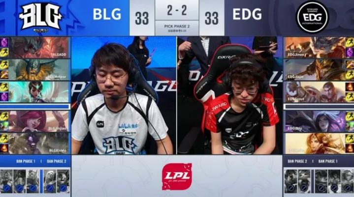 同心BLG继续前行 年轻代价EDG无缘S9