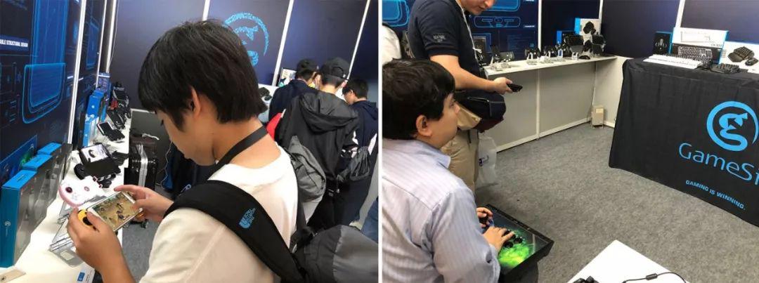 东京电玩展报道,盖世小鸡新品遭歪果仁强势围观!