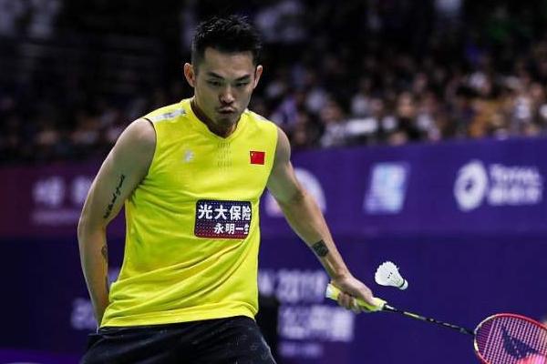 中国羽毛球公开赛,林丹0-2不敌桃田贤斗
