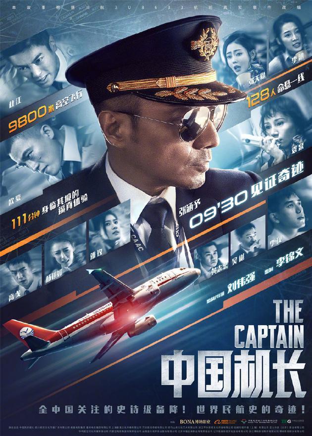 《中国机长》单日点映票房5566.5万夺冠