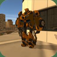 英雄战争变形机器人破解版