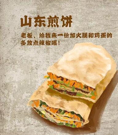明日之后中山东煎饼的配方一览