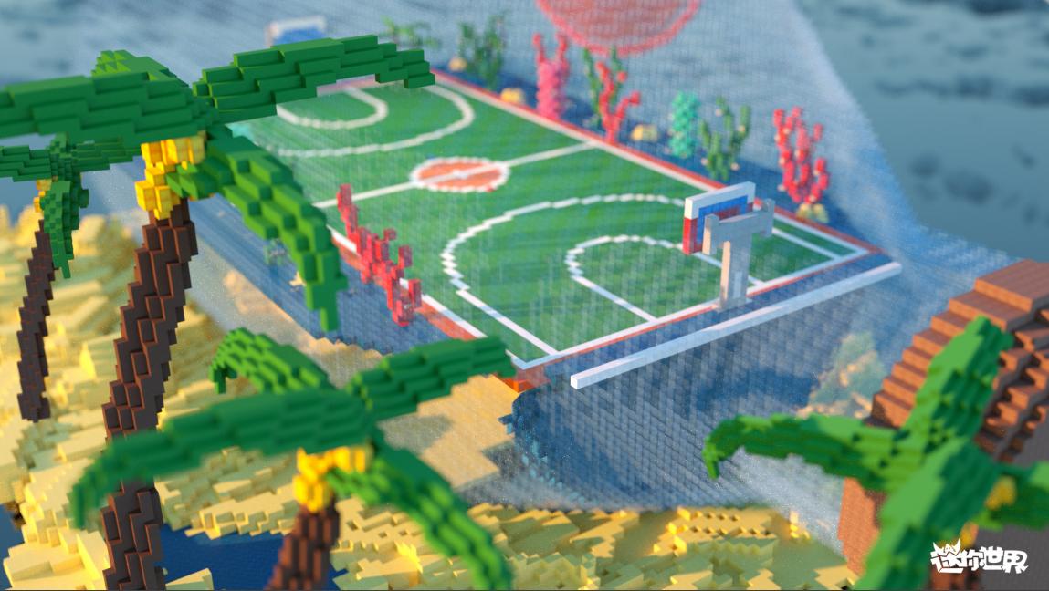 《迷你世界》篮球功能上线,完美跨界《这!就是灌篮2》