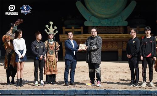 """王者荣耀城市赛全国大赛揭幕,""""电竞+古滇文化""""联手打造特色赛场"""