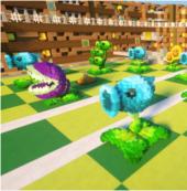 《迷你世界》自定义模型有多强?玩家还原植物大战僵尸好评爆表