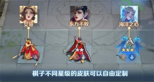 王者模拟战皮肤更换方法