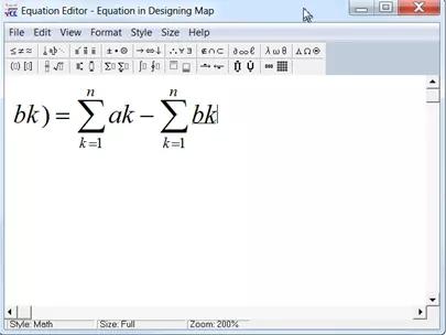 MindMapper中插入数学公式方法