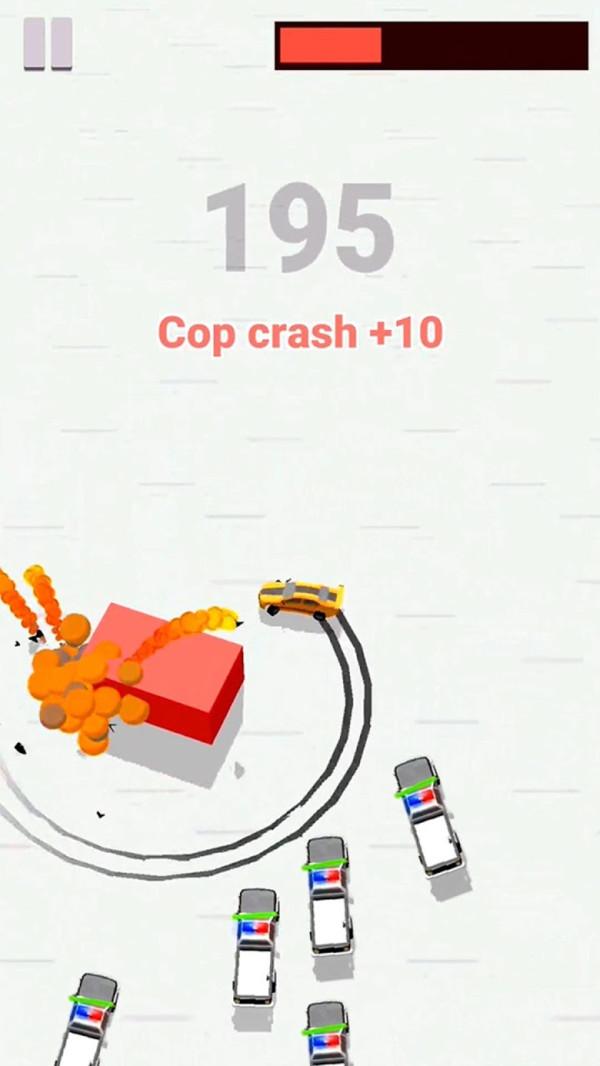 警察漂移赛车