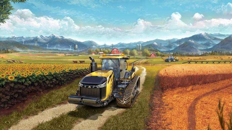 模拟农场18怎么玩