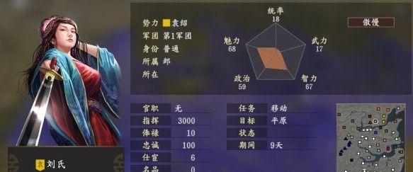 三国志14刘氏属性一览