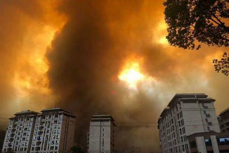 四川凉山州西昌市突发森林火灾,官方实施紧急交通管制