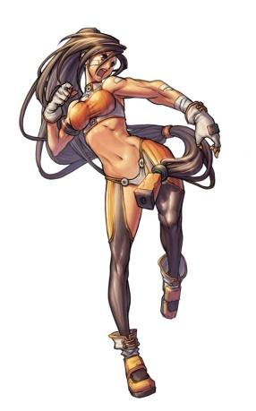 【勇士小百科】NO.3女格斗家:汗水浇灌的生命之花
