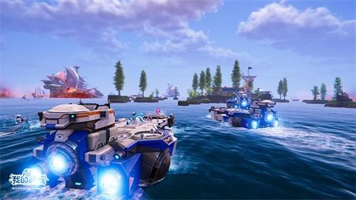 《我的起源》4月新版本揭秘——海上据点全新开放!