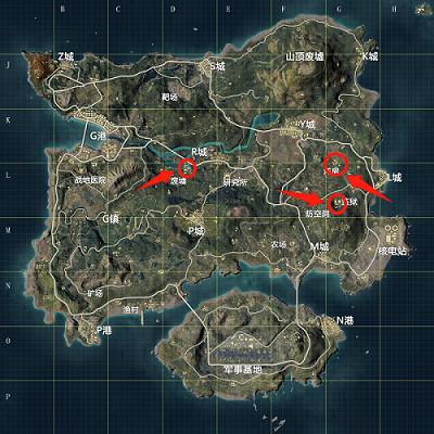 和平精英赛博朋克风格场景位置介绍