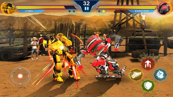 机器人变形战斗