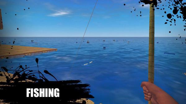 木筏生存逃离鲨鱼
