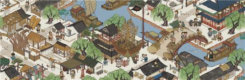 椰岛匠心自研古镇模拟经营类手游江南百景图7月2日正式上线