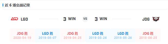 LGD vs JDG:强队检验!LGD或将终结JDG五连胜