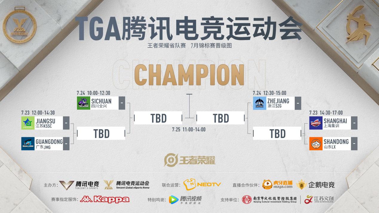 TGA腾讯电竞运动会