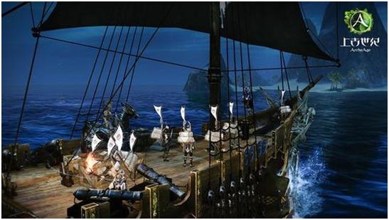 超真实的海上争夺战,《上古世纪》重回经典