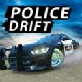 警察汽车漂移