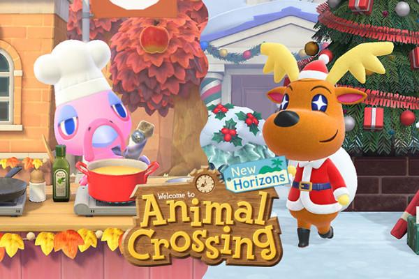 《集合啦!动物森友会》冬季免费更新发布,腾讯加 速器限免加 速助力畅玩