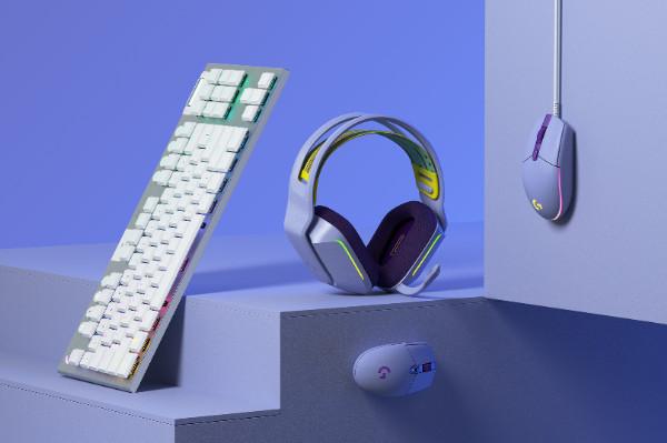全新薩勒芬妮同款羅技G733無線游戲耳機等多款游戲裝備 多彩熱賣中!