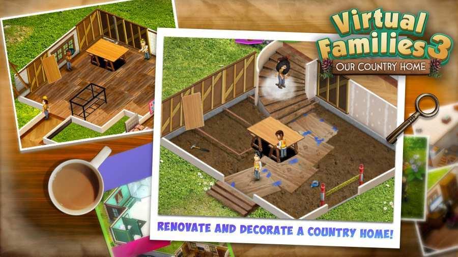 虚拟家庭3破解版