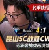 K甲春季赛快讯:昆山SC战胜CW守擂成功,无双裴擒虎两度偷家亮绝活