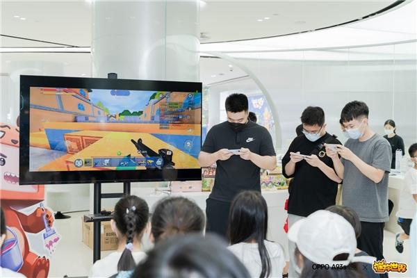 迷你世界联合OPPO 举办主题活动 知名游戏解说墨渊空降现场与粉丝battle