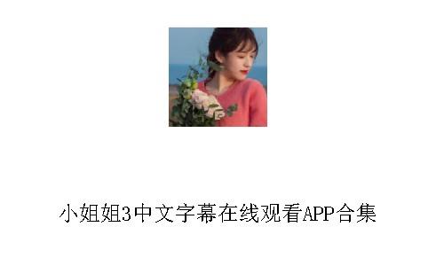 小姐姐3中文字幕在线观看
